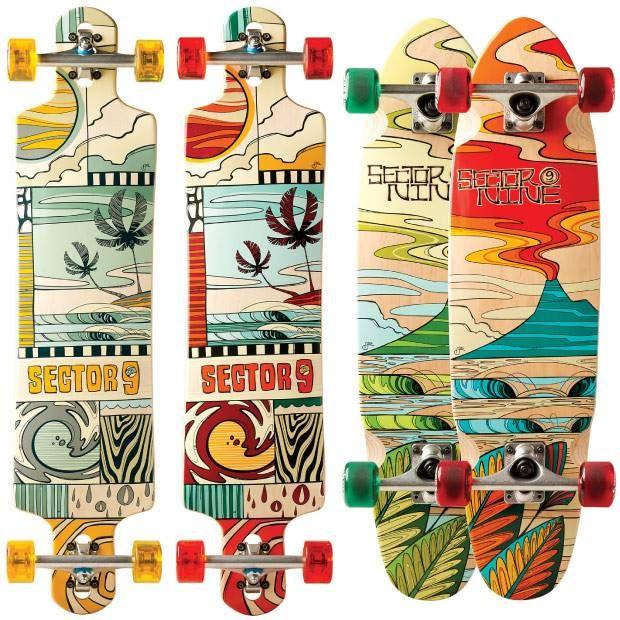 Skateboard wall art