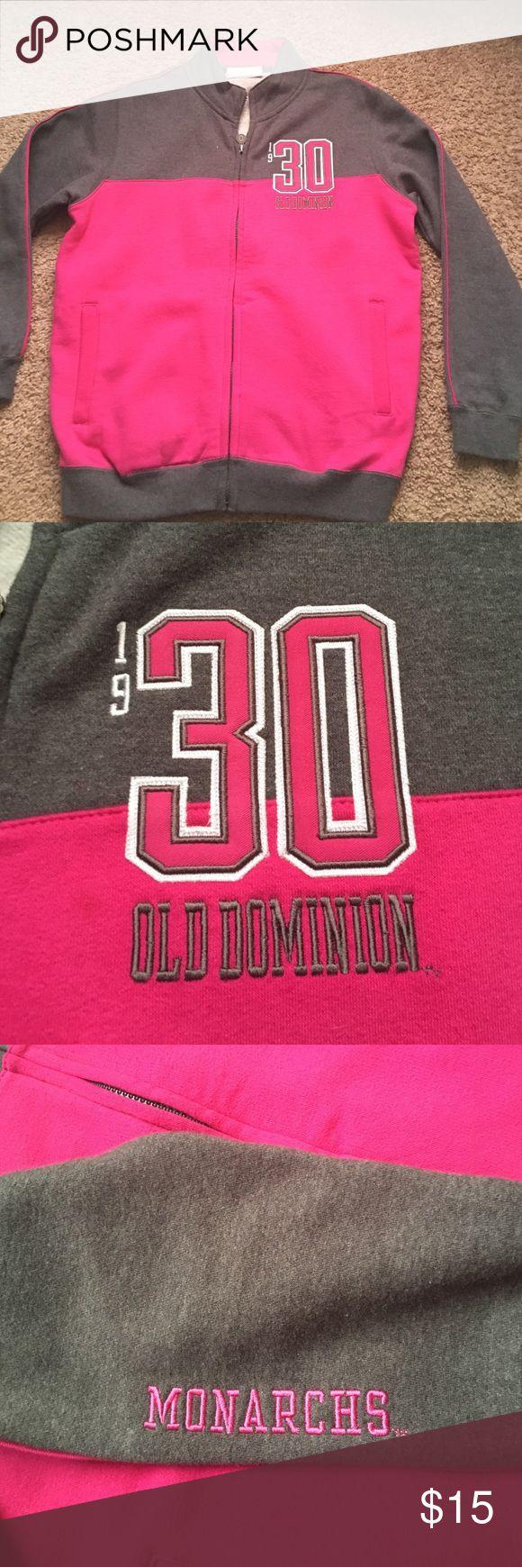 Letterman jacket Old Dominion University letterman jacket! Never been worn. Kids XL! Make me an offer 😊 Champion Jackets & Coats Utility Jackets
