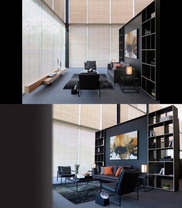 25 moderne Wohnzimmer mit kühlen und klaren Linien