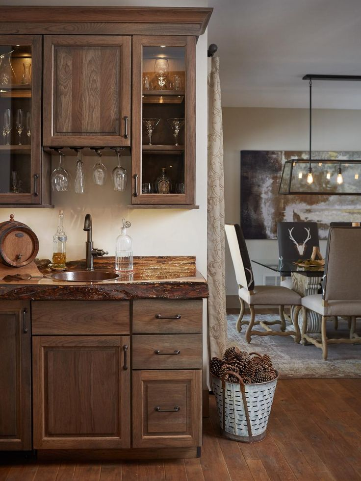 You don't need a lot of square footage to fit a bar into your plans. We've rounded up 15 stylish and space-savvy ideas for incorporating a cocktail station into your home, be it palatial or petite.