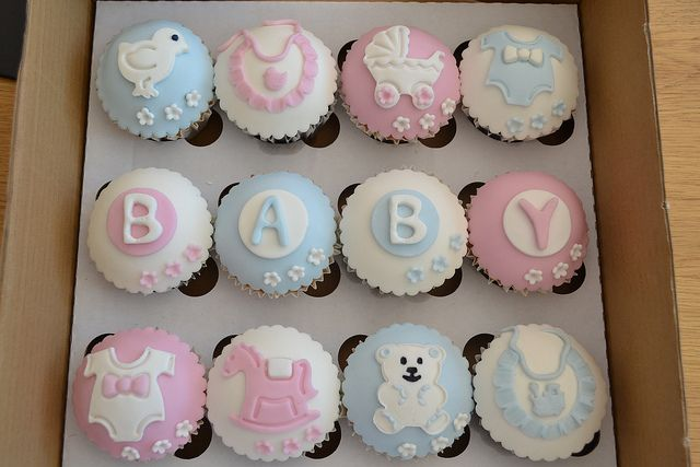 Baby Shower cupcakes | Flickr - Photo Sharing!