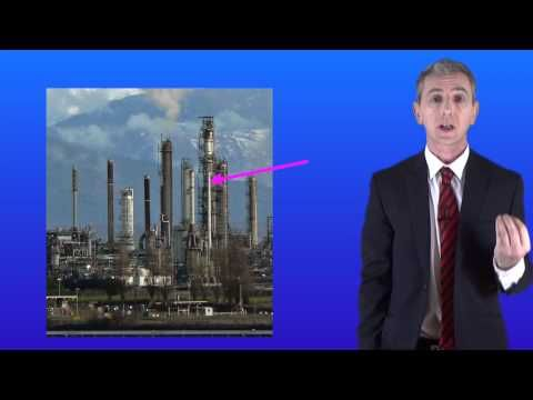 GCSE Science Chemistry Unit 1. Lesson 30: Fractional distillation of hydrocarbons - YouTube