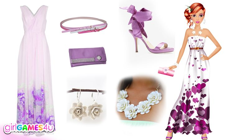 GirlGames4u.com It's time to look #glamorous in #purple! ***  The best #girlgames are waiting for you here: http://www.girlgames4u.com/ ✿ ✿ ✿