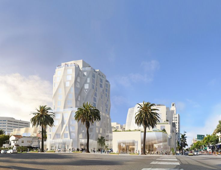 Gallery of New Renderings Show Gehry's Ocean Avenue Tower Shortened to 12 Stories - 1