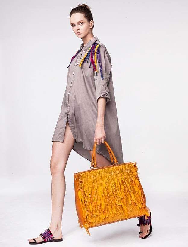 handwoven bag handwoven dress