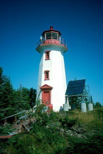 Davieaux Island #lighthouse - Ontario, #Canada - - Yahoo Image Search Results http://dennisharper.lnf.com/