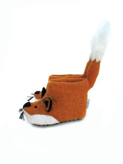 Cutest slippers ever! #Fox