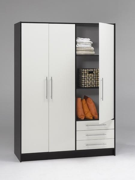 Las 25 mejores ideas sobre closet de melamina en pinterest - Muebles armarios roperos ...