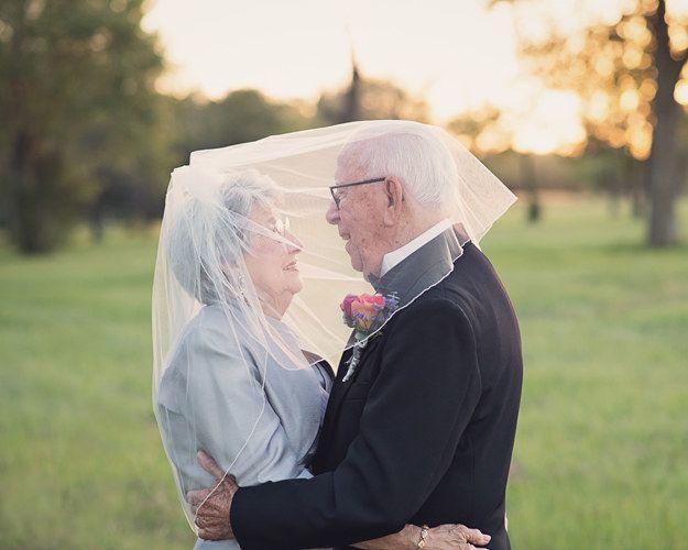 This Couple Waited 70 Years To Take Their Wedding Photos