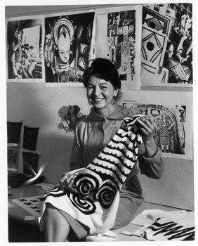 Bonnie Cashin (1907-2000) .In 1962 Cashin became the first designer of Coach handbags and initiated the use of hardware on clothing and accessories, including the brass toggle that became Coach's hallmark. She revolutionized the handbag industry.