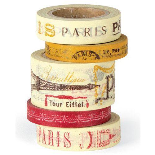 Cavallini Paris Paper Tape. £11.50, via Etsy.