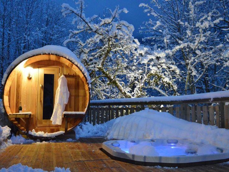 Chalet Morzine, Haute savoie #vacances #ski #neige #jacuzzi #sauna