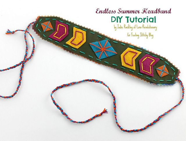 Tutorial by Jodie Rackley, author of Happy Stitch by floresita, via Flickr #needlecraft, #diy, #embroidery #hand sewingAuthor, Headbands Tutorials, Jodie Rackley, Hands Sewing, Bracelets, Diy Jewelry, Happy Stitches, Feelings Stitchy, Crafts