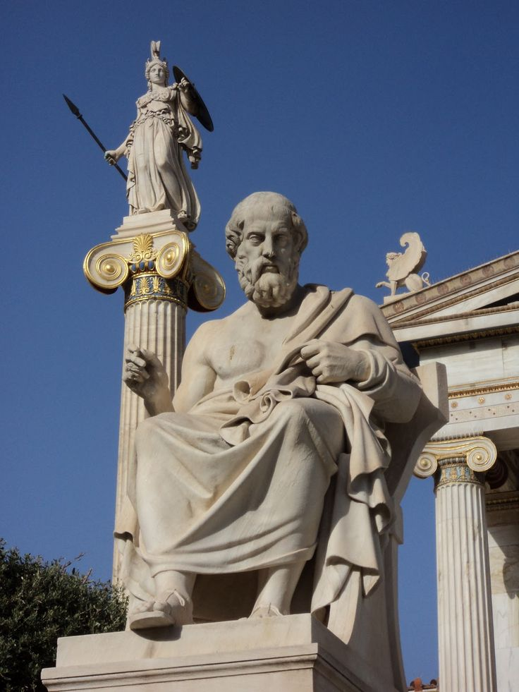 Plato at Academy of Athens<< want to go so bad!