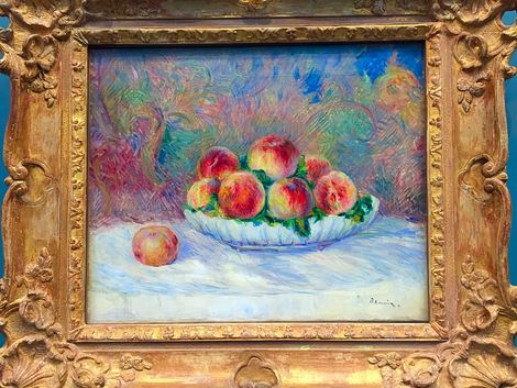 Pierre Auguste Renoir, Peaches on ArtStack #pierre-auguste-renoir-4 #art