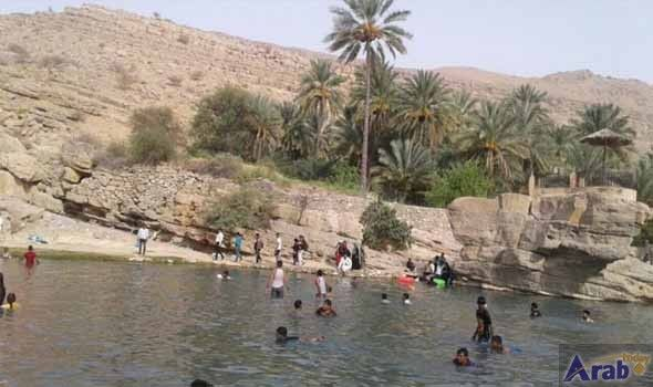 Oman tourism: 16,800 visit Wadi Bani Khalid during Eid holiday