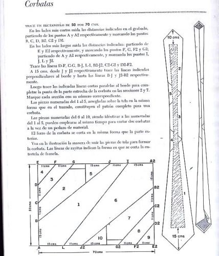 Molde para corbata - Imagui