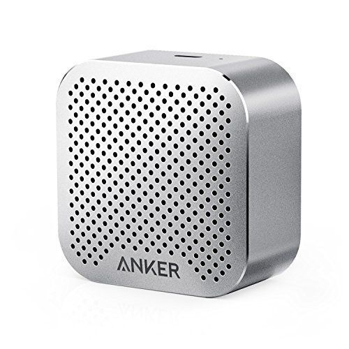 Amazon.com: Anker SoundCore nano Bluetooth Speaker with Big Sound, Super-Portable Wireless Speaker with Built-in Mic for iPhone 7, iPad, Samsung, Nexus, HTC, Laptops and More - Gold: Cell Phones & Accessories