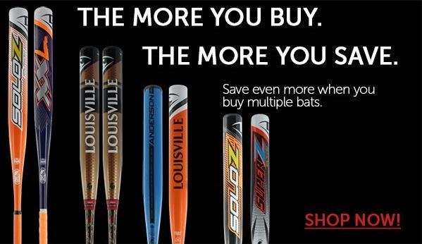 Leave your mark with Louisville Slugger slowpitch softball bats! As always - the more you buy, the more you save. Shop today with free shipping and 24/7 customer service only at JustBats!