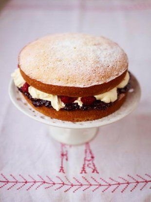 Victoria Sandwich | Fruit Recipes | Jamie Oliver Recipes