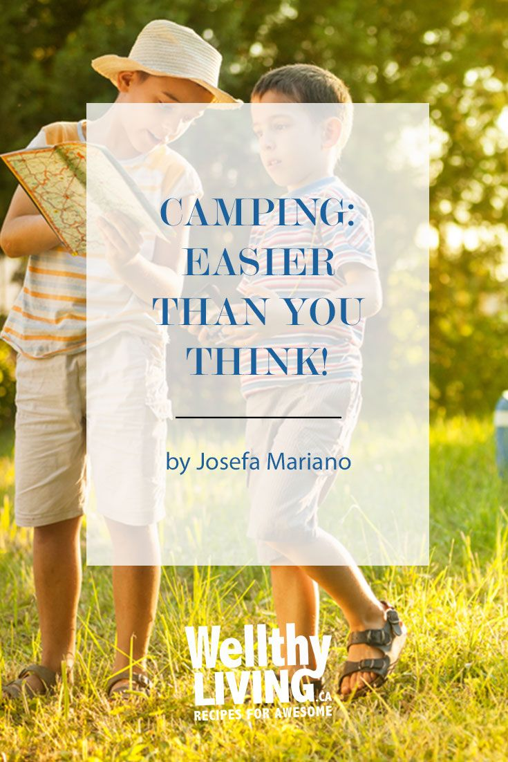 Summer's got a mean reputation for being the best season. What's not to love? Longer daylight hours means opportune barbecue season, perfect temperatures for swimming, and last but not least: camping!  Click to read more, or pin and save for later!