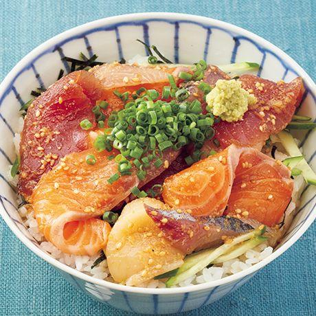 りゅうきゅう丼 | コウケンテツさんのどんぶりの料理レシピ | プロの簡単料理レシピはレタスクラブニュース