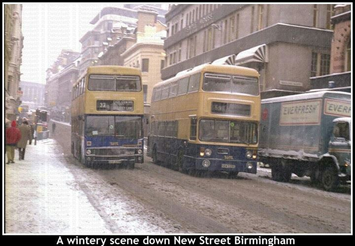 New Street, Birmingham, many years ago