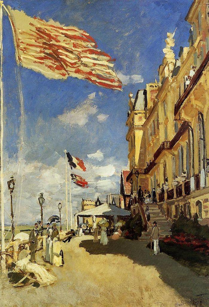 L'Hôtel des Roches noires à Trouville - Claude Monet