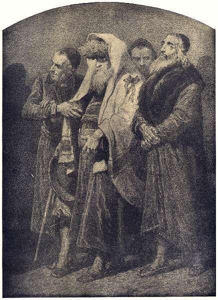 Warszawa 1. Warszawscy Żydzi. Artur Grottger