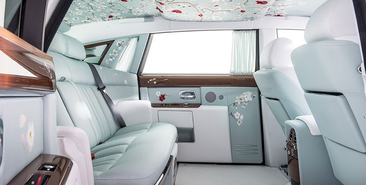 More than just Silk Of course, the creation of the most opulent interior of any luxury car could not simply rely on beautiful silk upholstery.