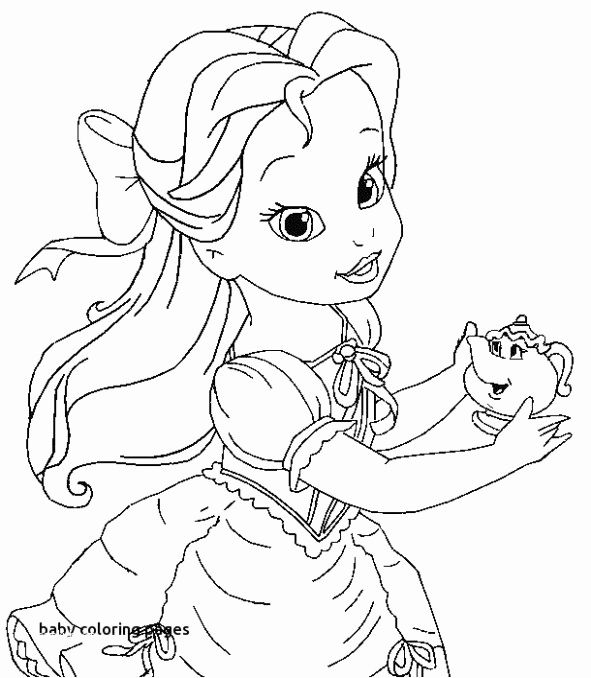 Baby Animals Color Pages Unique Baby Animal Coloring Fresh Disney Baby Christmas Disney Princess Coloring Pages Belle Coloring Pages Princess Coloring Pages