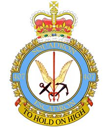 407 Long Range Patrol Squadron | 19 Wing | Royal Canadian Air Force