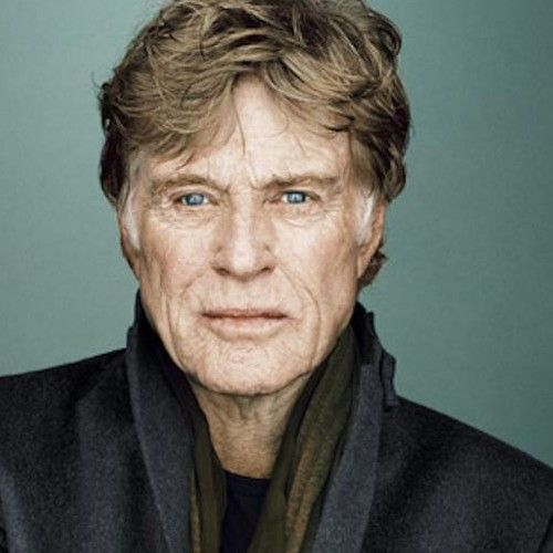 A real aged face, no plastic sugery here! Robert Redford