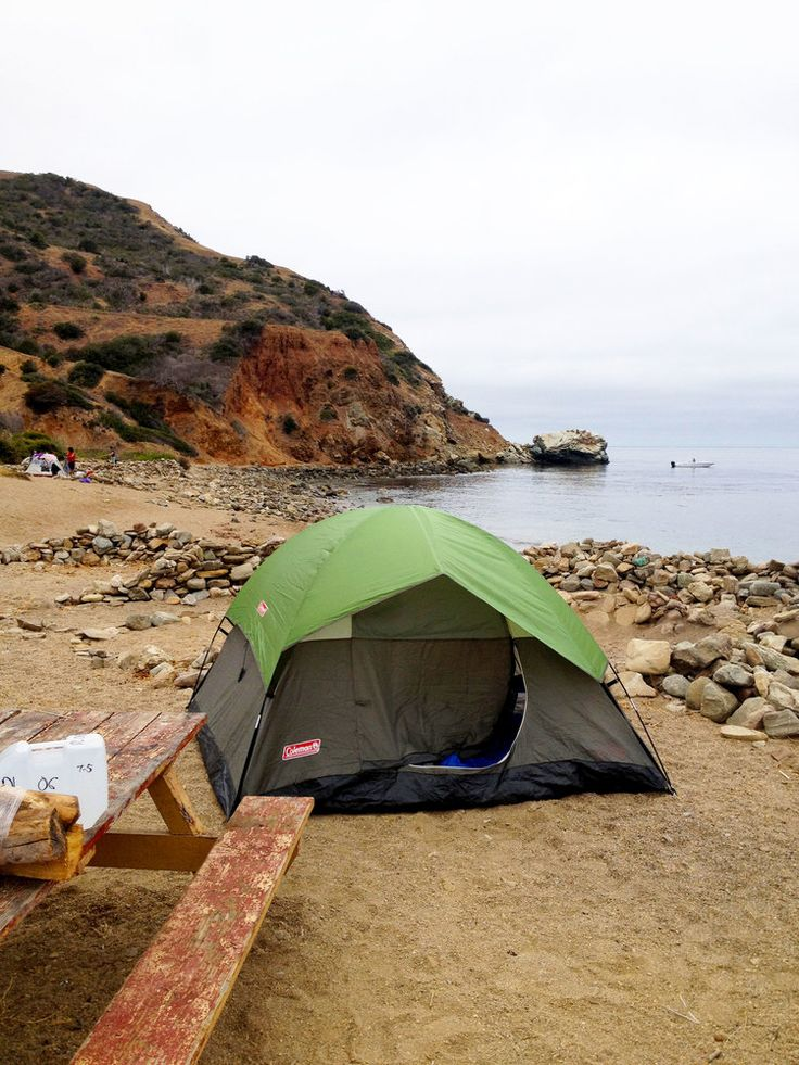 { Camping on Catalina Island } CA Pinterest