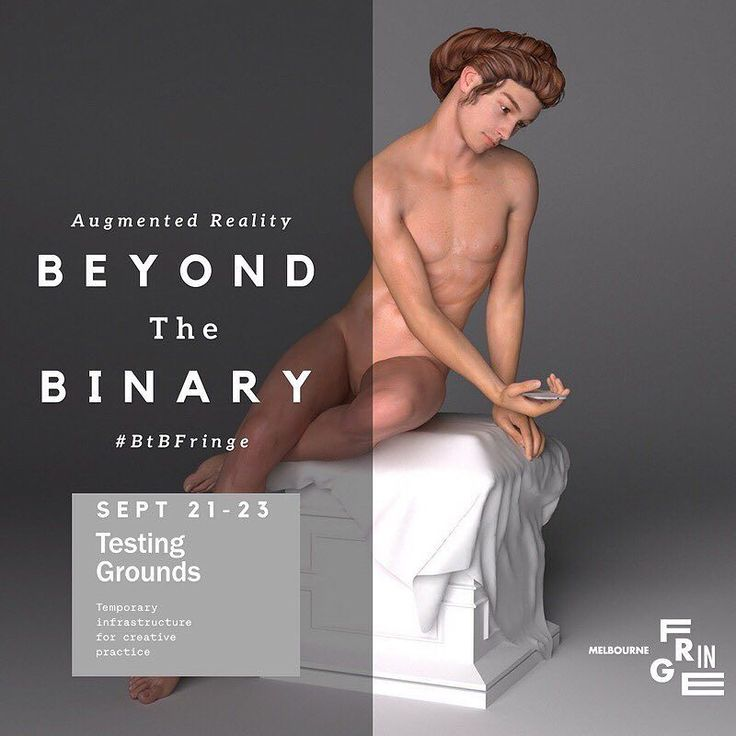 Dying to see the results of all my experimentations? Come to Beyond the Binary #BtBfringe at #testinggrounds @melbfringe to find out!  #augmentedreality #contemporaryart #art #digitalart #3d #vuforia #recursion #exhibition #machinelearning #lgbtart #instaart #lgbtartist #instaartist #digital #render #arte #exhibit #artexhibition