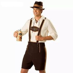 Brand new costume available at our store!!! Oktoberfest lasts forever #costume #oktoberfest #halloween #halloweenparty #costumeparty #guy #handsome #comment #follow #mensfashion #guys