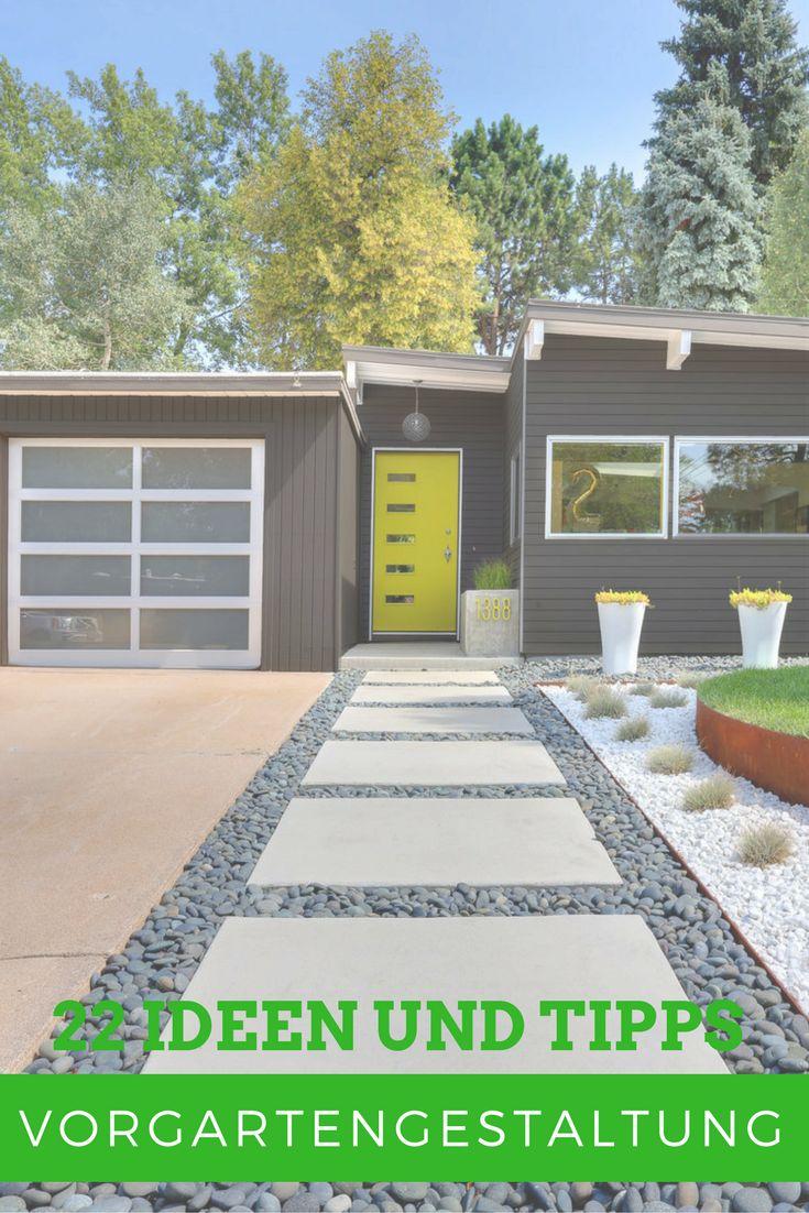 Die 323 Besten Bilder Zu Gartengestaltung Auf Pinterest | Haus ... Vorgartengestaltung Ideen Tipps Pflege