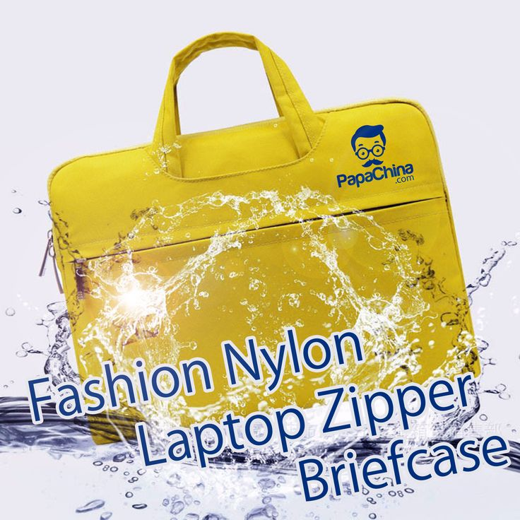 The Fashion Nylon Laptop Zipper Briefcase will increase the chances of a successful direct mail marketing campaign. Featuring inner soft pocket, outer zippered pocket, inner side pockets, double zipper, soft handle, fit or apple macbook pro, waterproof and uses such as carrying laptop, macbook and books will ensure your prospects use it and will keep your company name and logo visible.