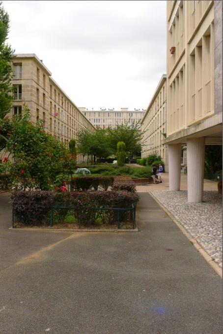 Paris, Montrouge - Résidence Buffalo 1955-1958 by Fernand Pouillon