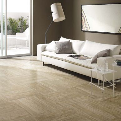 Porcelain elegant living room and tile on pinterest - Carreau de ceramique ...