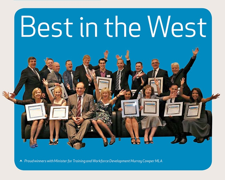 Best in the West - Training Matters Page 4    The WA Training Awards highlighted the outstanding individuals and organisations from the Western Australian training sector with a much anticipated awards ceremony attended by 700 people on 14th September.    That was the night JSW Training & Community Services won WA Training Initiative 2012.