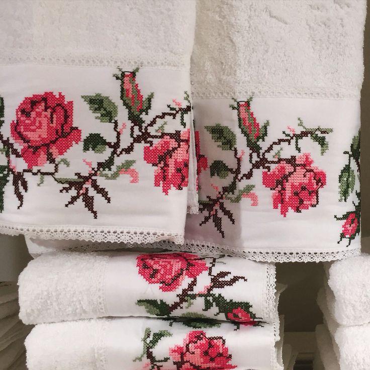 Dantell Atelier towel details #towels #havlu #dantell #dantellatelier #hometextile #textile #lace #embroidery #jaquard
