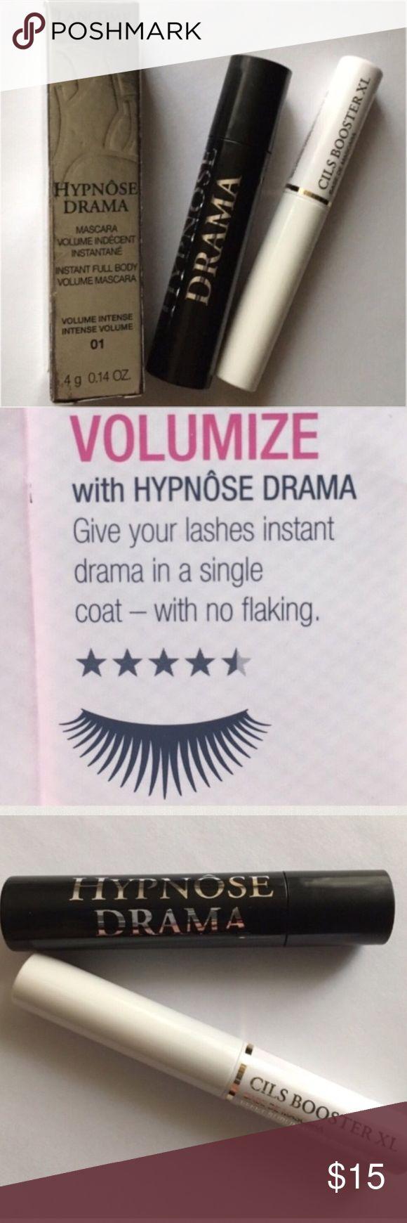 🆕🔥NEW🔥Lancôme Hypnose Drama Mascara & Cils Base 🆕🔥NEW🔥Lancôme Hypnose Drama Mascara in Excessive Black & Lancôme Cils Booster XL Mascara Base. Both Travel Size. BNIB! BRAND NEW! UNTOUCHED! 🚫Trades🚫Price Firm Unless Bundled Sephora Makeup Mascara