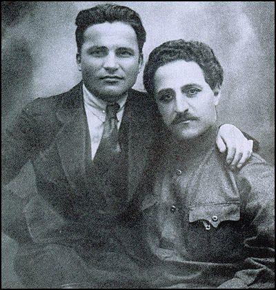Sergei Kirov and Sergo Ordzhonikidze.