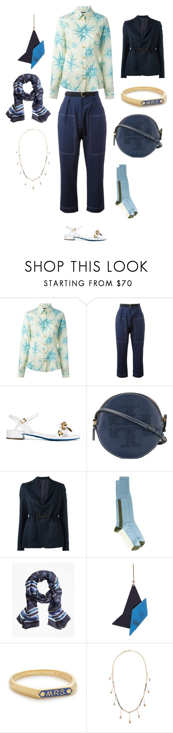 """what you choose"" by emmamegan-5678 ❤ liked on Polyvore featuring FAUSTO PUGLISI, Marni, Loriblu, Tory Burch, Jil Sander Navy, Brooks Brothers, STELLA McCARTNEY, Nora Kogan, Emily & Ashley and modern"
