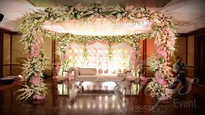 Pakistani wedding stage