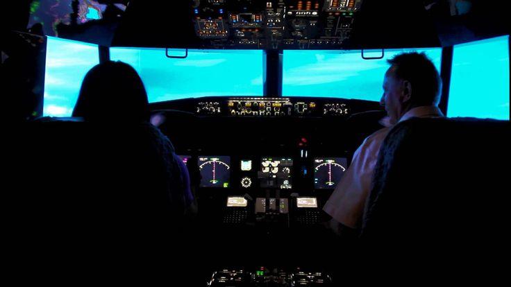 flying a boeng 737