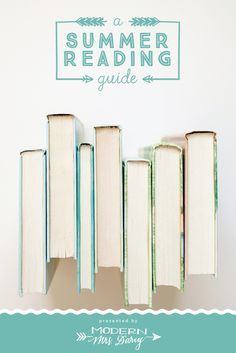 Kick off the summer with a curated guide to the best summer reads. Anyone can browse a best seller list, but those lists don't help you decide if those are the right books for YOU.  That's why I put out this guide every year. These are my hand-picked top reads for the season.