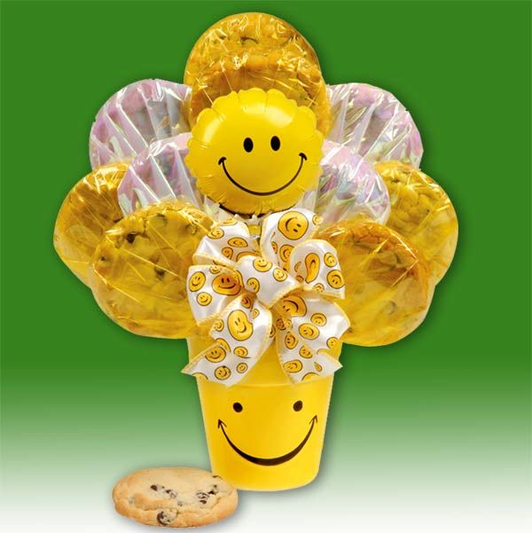37 best EASY COOKIE BOUQUET images on Pinterest Cookie bouquet