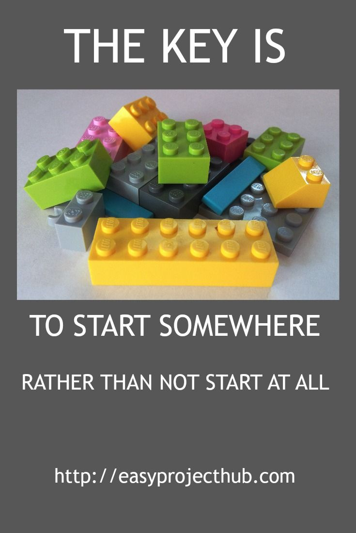 Take a step, even if it's just a very small one. Do it today. Get yourself started.
